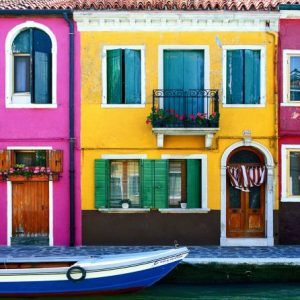 4,5-hour Motorboat Cruise: Panoramic City Tour + Venice Lagoon Islands Murano Burano and Torcello [BEST SELLER]