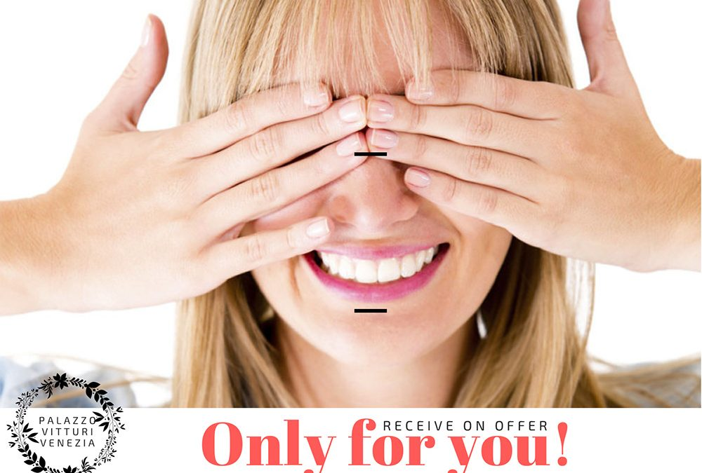 """Receive a Special Offer by email – """"Only for you"""" simple"""