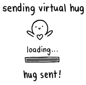 virtual hug